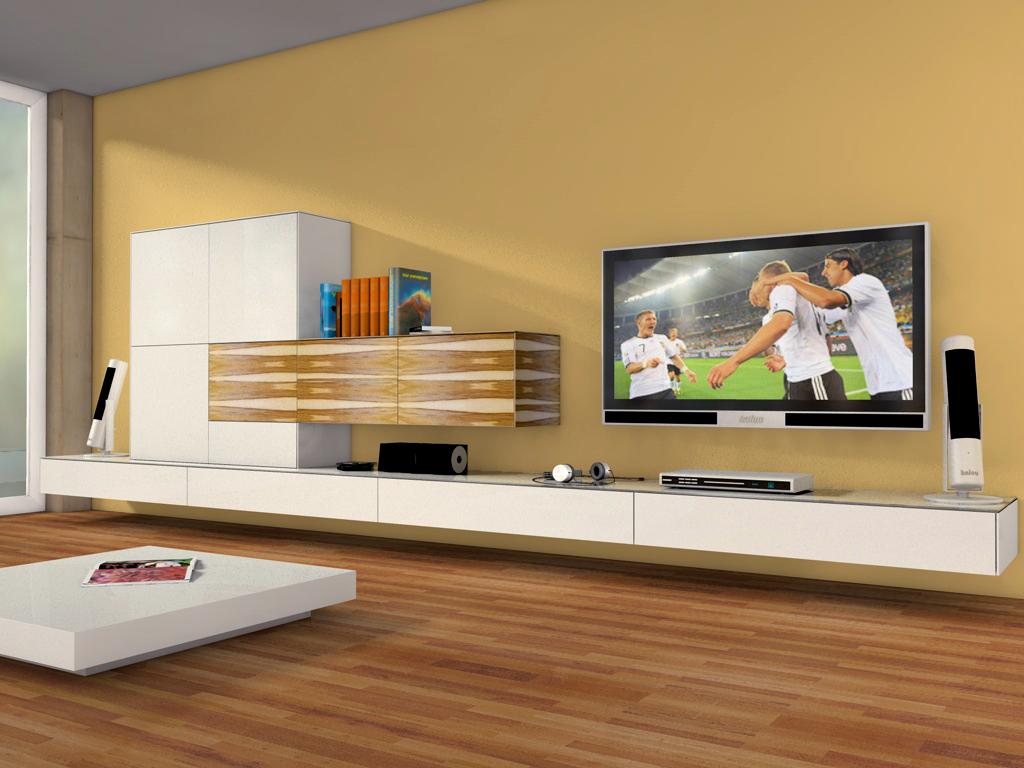 moderne wohnw nde moderne wohnwand m 246 bel brucker referenzen des k 252 chenstudios. Black Bedroom Furniture Sets. Home Design Ideas