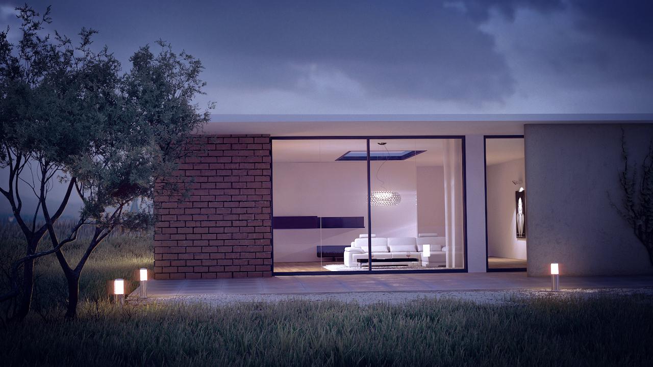 Architekten Bungalow bungalow, architekturvisualisierung architektur bungalow - 3d-ring.de