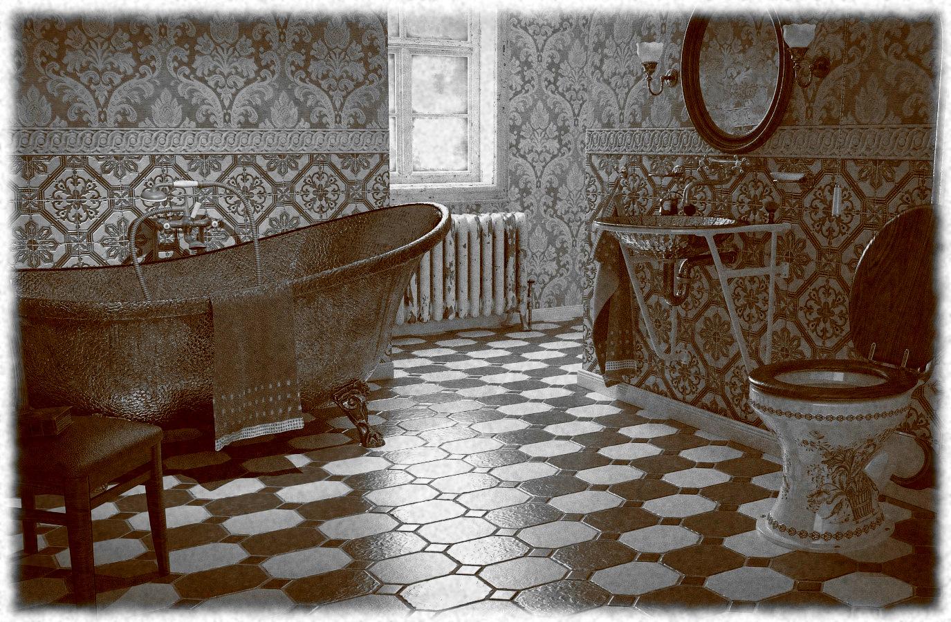 bad anno 1900 , badezimmer alt up3d - 3d-ring.de, Badezimmer ideen