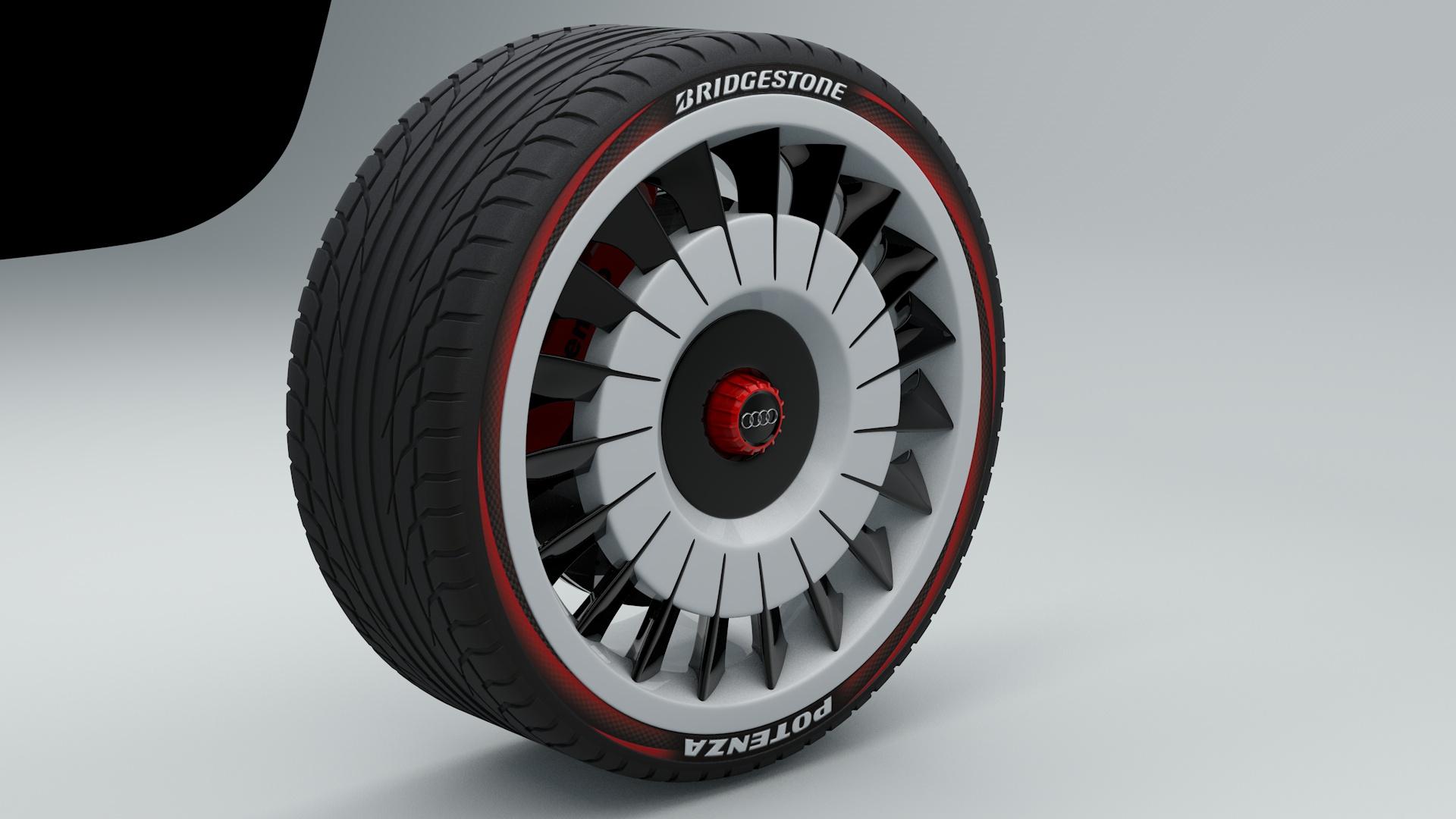 Audi A1 Felge 3d Ring De