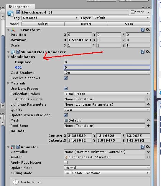 Blendshapes - Von Blender nach Unity 5? - 3D-Ring de