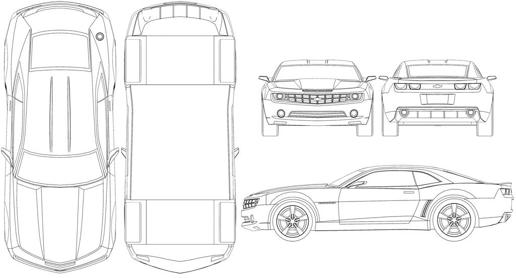 WIP Camaro - 3D-Ring.de